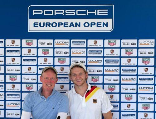 Unser Dream-Team beim Porsche Cup