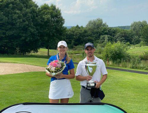 Max Basler ist NRW-Champion, Emilia Omander bei den Damen Dritte!